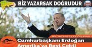 Cumhurbaşkanı Erdoğan Amerika'ya Rest