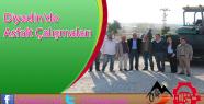 Diyadin'de Asfalt Çalışmaları