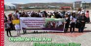 Diyadin'de Hazal Aras Eylemleri Sürüyor