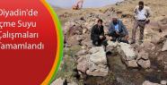 Diyadin'de İçme Suyu Çalışmaları Tamamlandı
