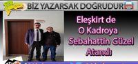 Eleşkirt'in Yeni Müdürü