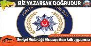 Emniyet müdürlüğü whatsapp ihbar hattı