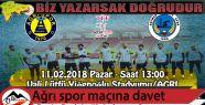 Engin Budakoğlu'ndan maça davet