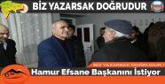 Hamur Efsane Başkanını İstiyor