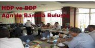 HDP ve BDP Ağrı'da Basınla Buluştu