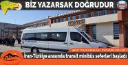 İran-Türkiye arasında transit minibüs