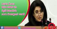Leyla Zana Ekin WAN ile ilgili Meclis'e