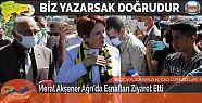 Meral Akşener Ağrı'da Esnafları Ziyaret