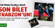 Türkiye Kupası'na son bilet