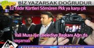 Vali Işın Sırrı Sakık'a Sert...