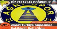 Ziraat Türkiye Kupasında