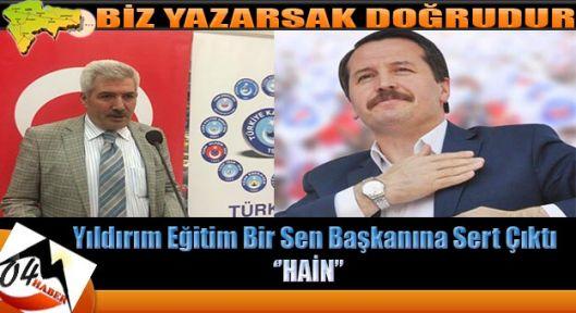 Tokat'ta ki İhanete Ağrı Türk Büro Sen'den Sert Tepki