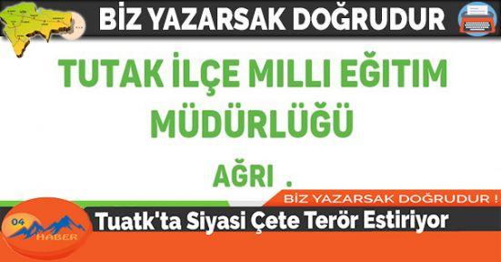 Tuatk'ta Siyasi Çete Terör Estiriyor