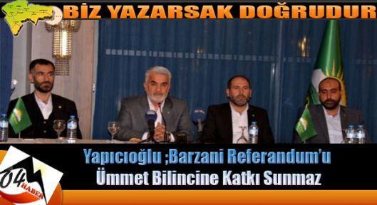 Türkiye de Referandum Birlikte Yaşam Kararı İle Sonuçlanır