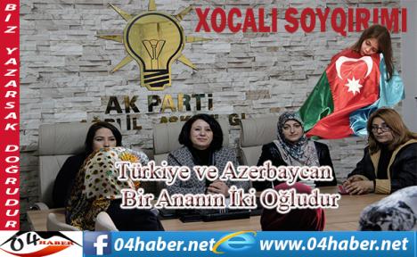 Türkiye ve Azerbaycan Bir Ananın İki Oğludur