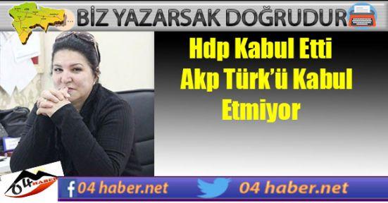 Türklerle Derdiniz Ne Ağrı AKP