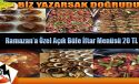 Ağrı'nın Ayrıcalıklı Restaurant'ı Ramazan'a Hazır