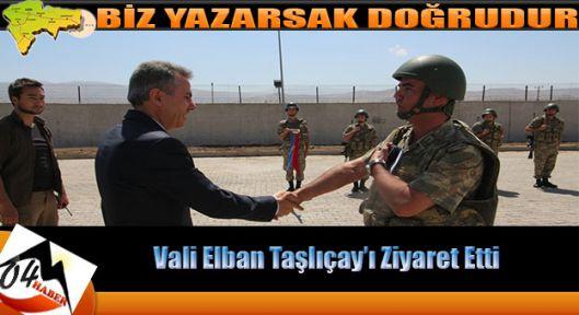 Vali Elban'dan Taşlıçay Ziyareti