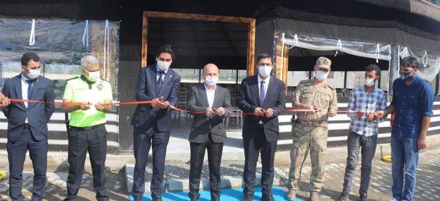 Vali Varol Taşlıçay'da Kır Düğün Salonunu Hizmete Açtı