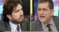 Canlı yayında 'alçak' kavgası (Video)